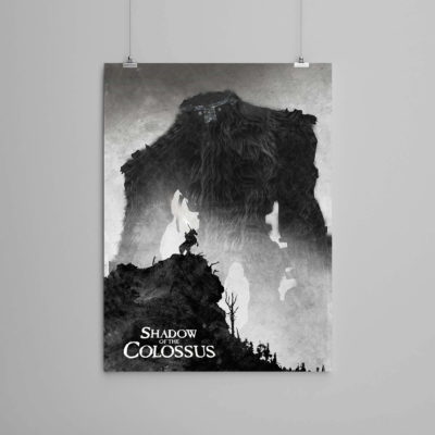 Shadow of the colossus etsy